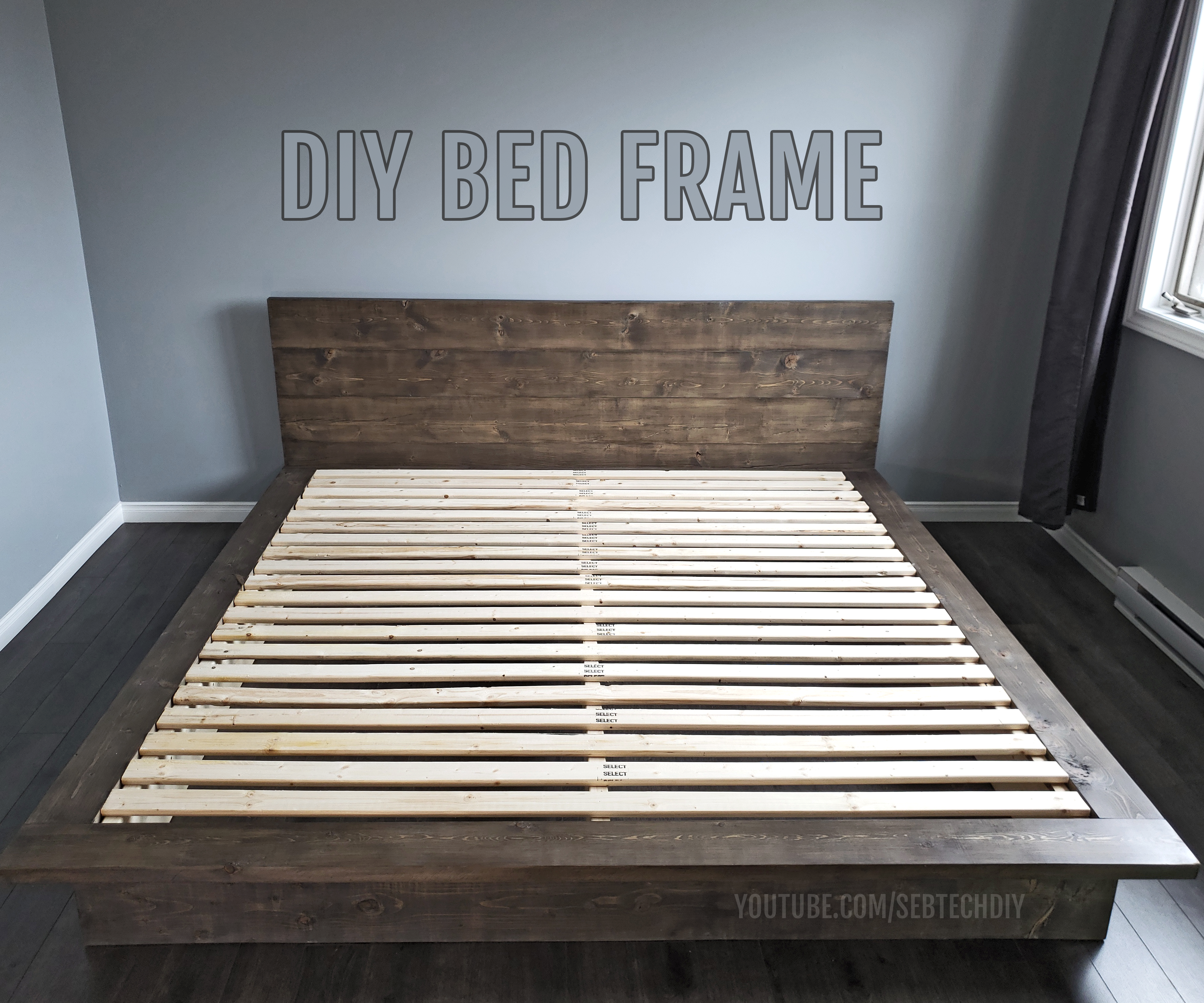 Diy Bed Frame 10 Steps With Pictures Instructables
