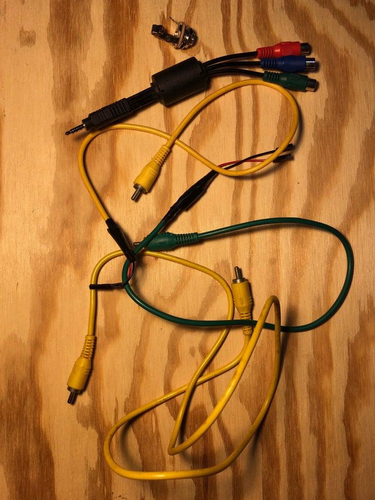 Connectors/Final Hardware Set-up