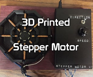 3D Printed Stepper Motor