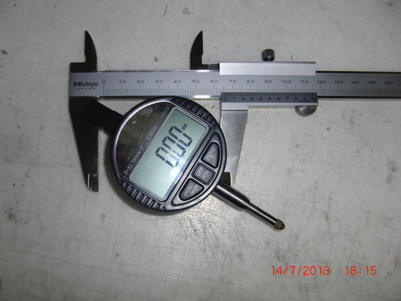 Measure and Set Up.