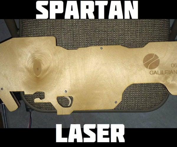 Laser Cut Spartan Laser