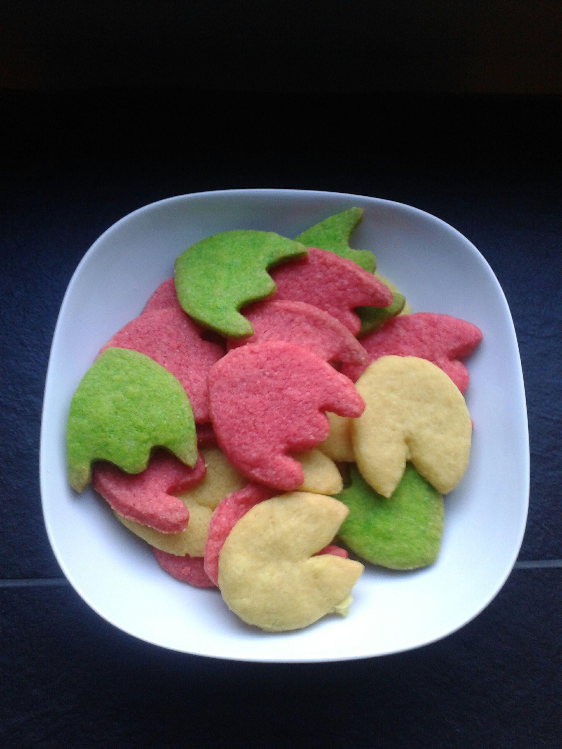 waka waka pacman cookies