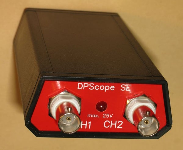 DPScope SE - the Simplest Real Oscilloscope/logic Analyzer on the Planet