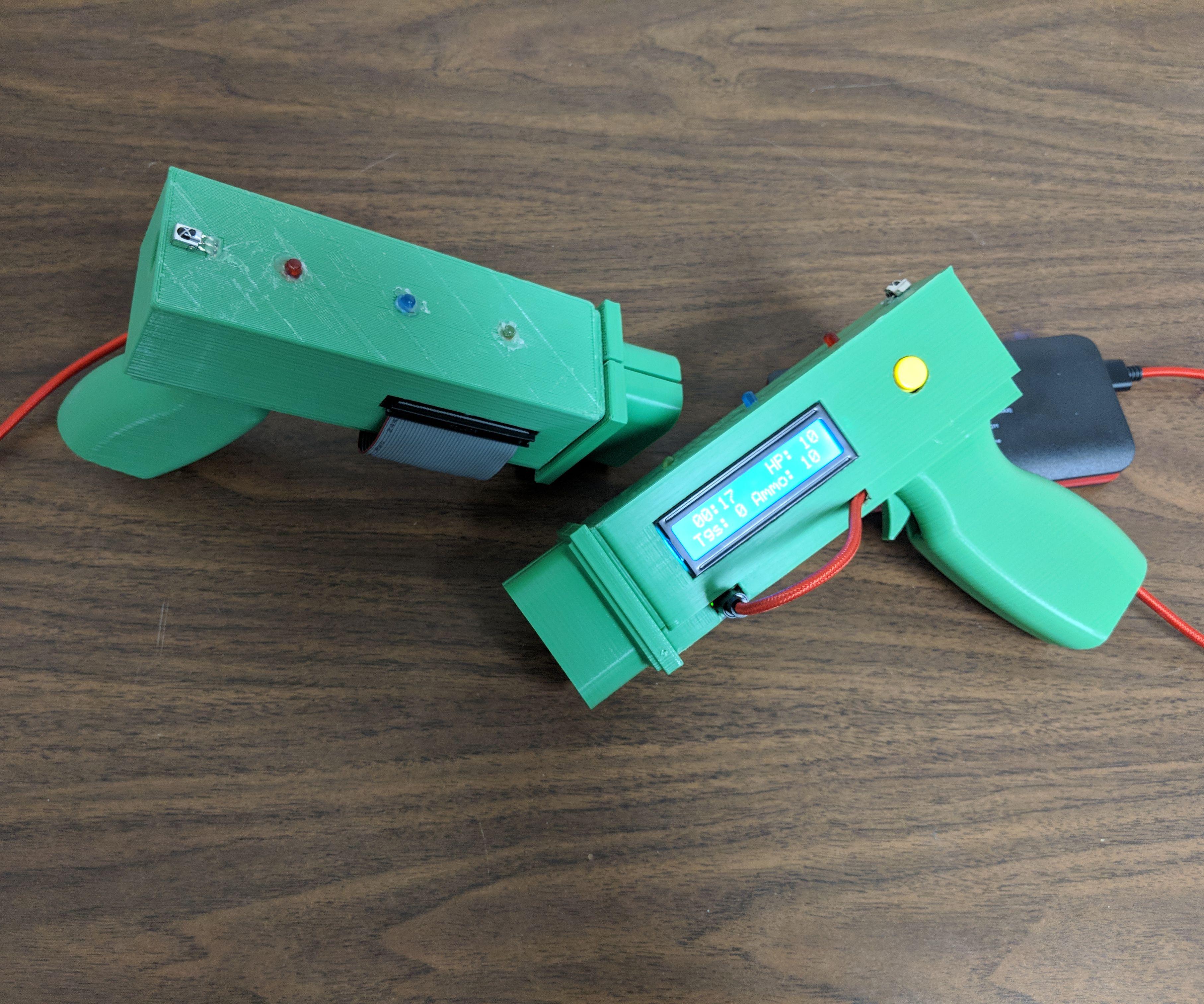 Infrared Laser Tag With Raspberry Pi Zero