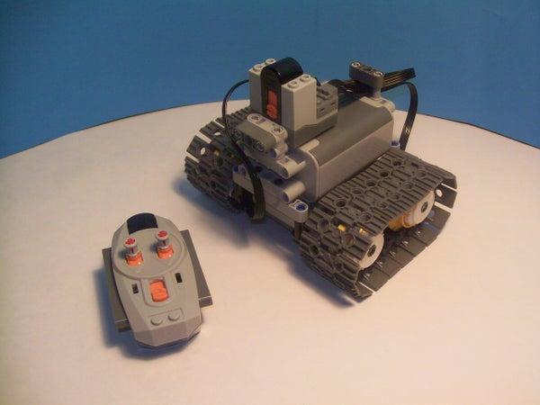 Lego Power Functions Mini Tank V2.0