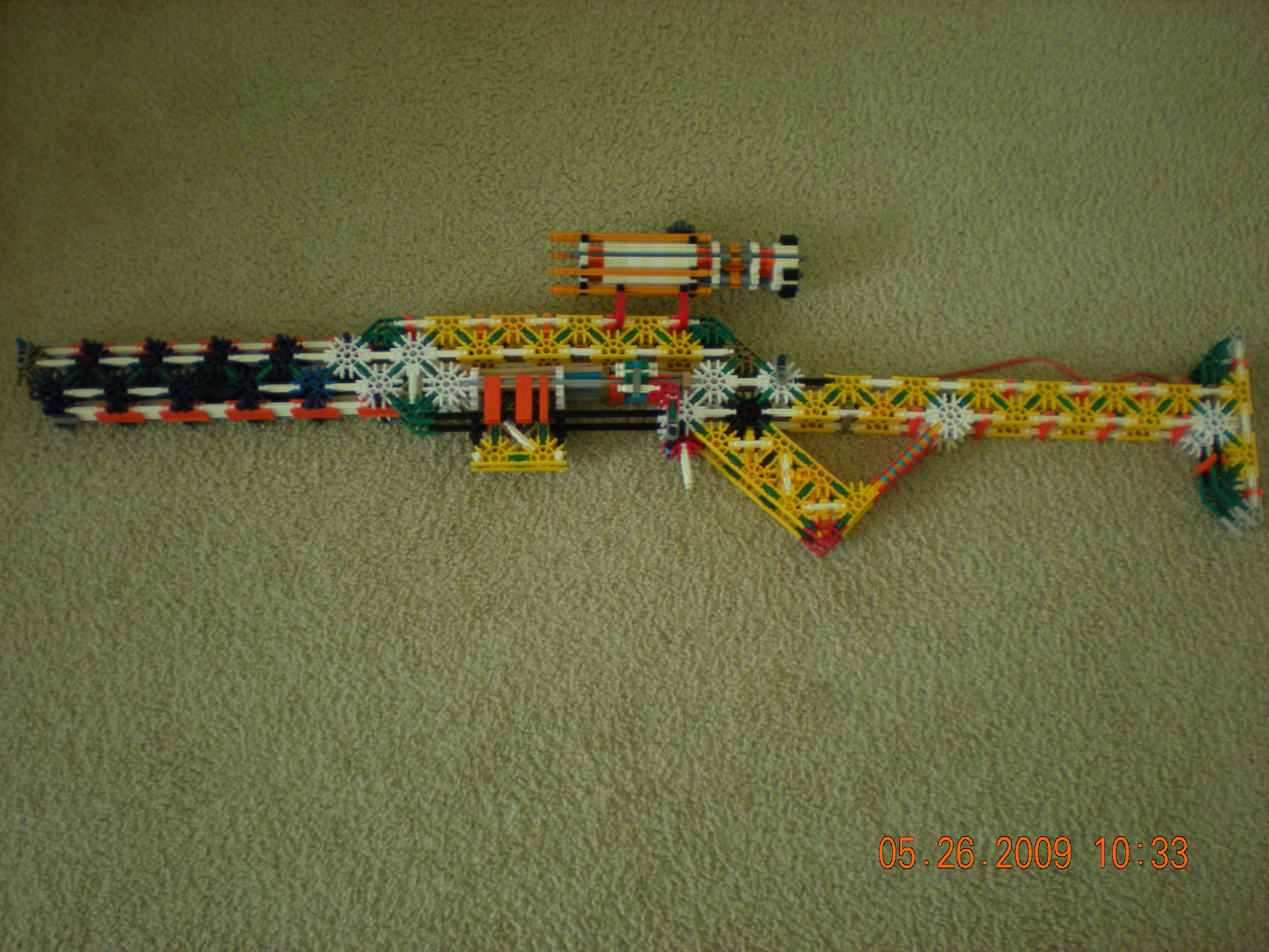 Knex Subsonic Sniper