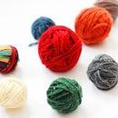 DIY Faux Yarn Balls