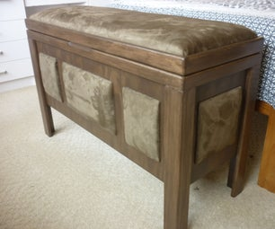 Blanket Chest With Padded Seat