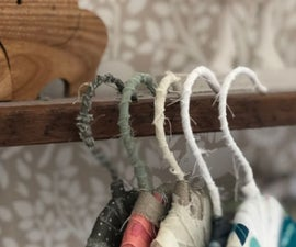 DIY Fabric Wrapped Hangers - the Scrappy Way!
