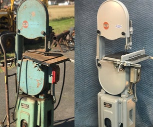 How to Restore a Band Saw