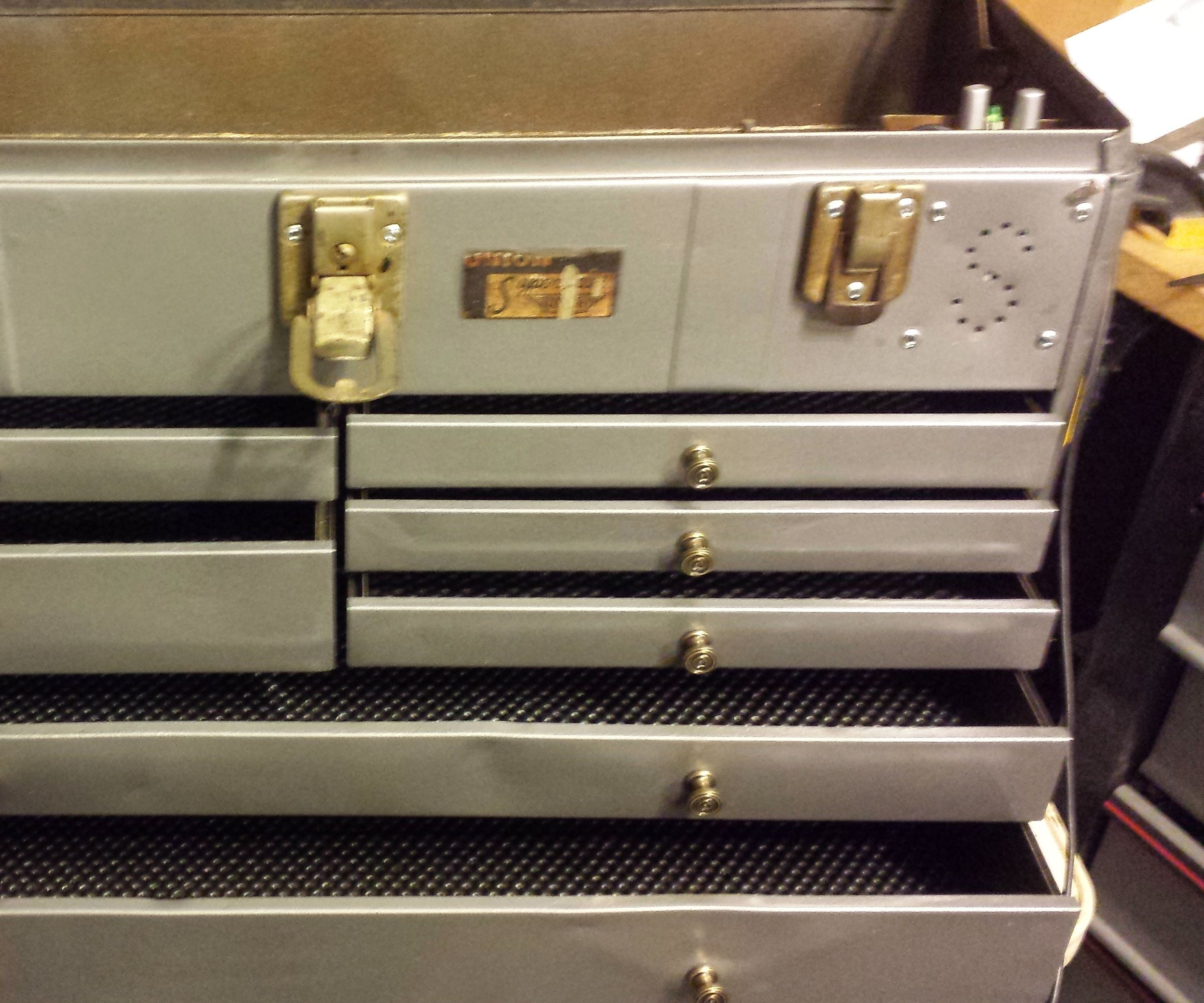Toolbox Restoration and Retrofit