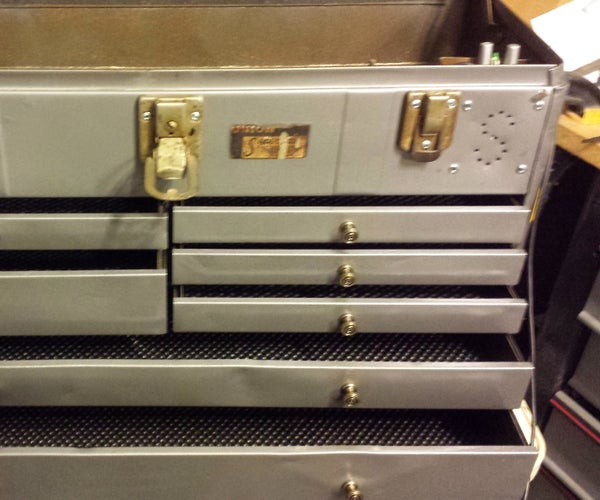 Toolbox Restoration and Retrofit