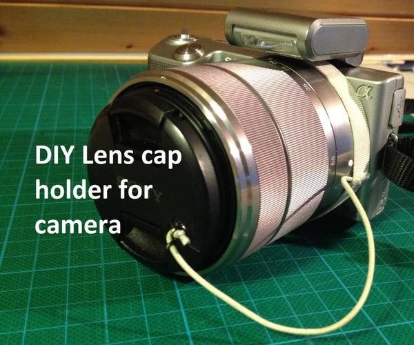 DIY Lens Cap Holder for Camera