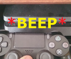Disable PS4 Startup Beep