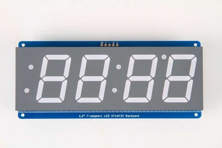 Supplies Needed: 1.2 Inch LED Display