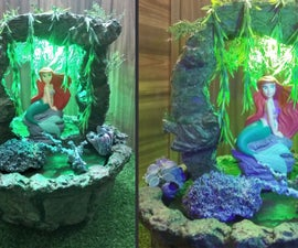 How to Make Water Mermaid Fountain | Indoor Water Fountain