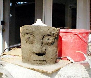 Hypertufa Face Pots or Grots