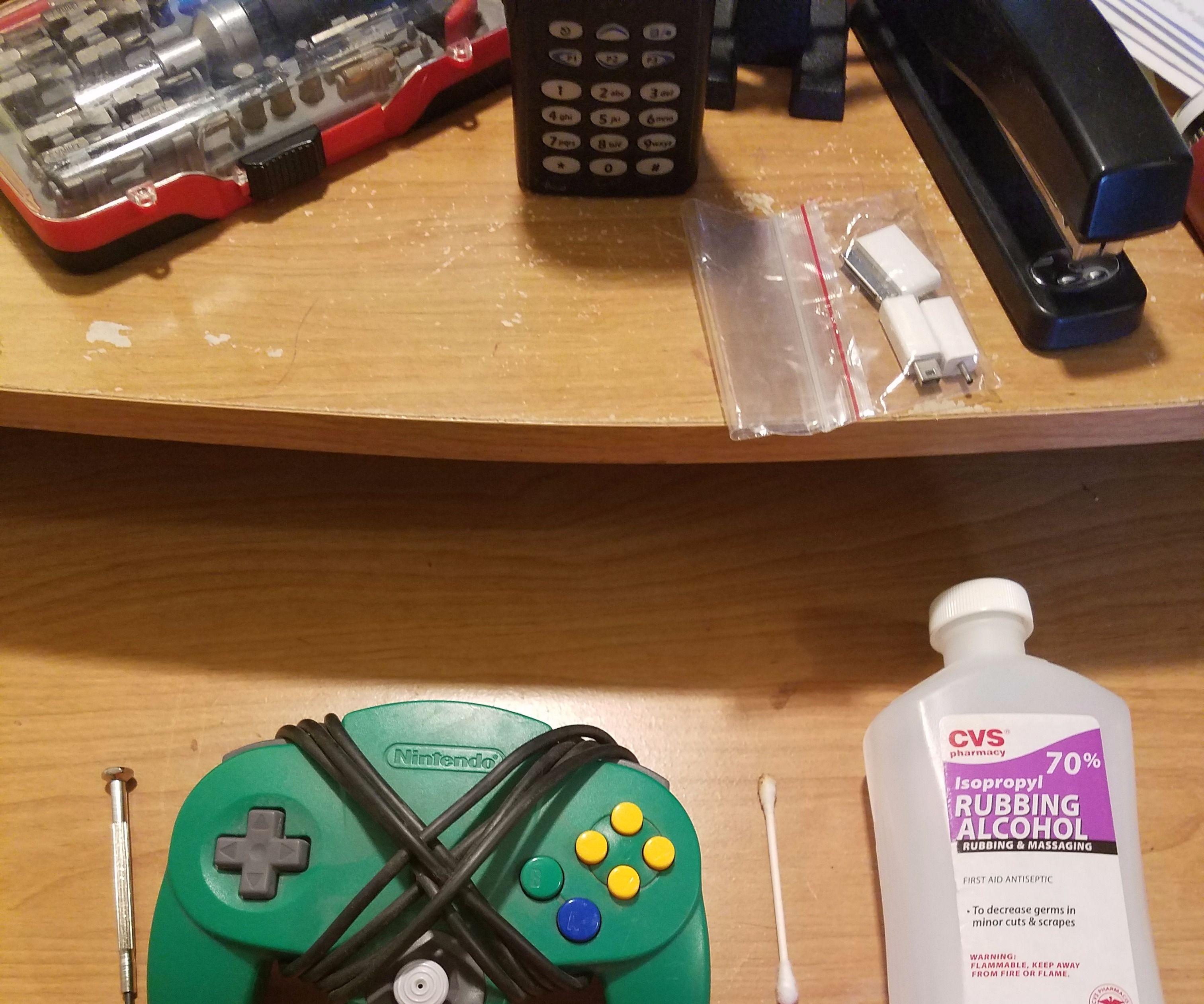 Restoring an N64 Nintendo 64 Controller