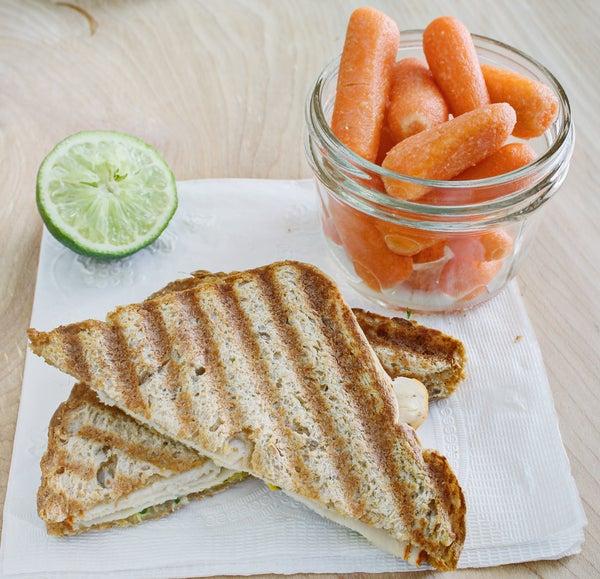 Grilled Turkey & Sprout Sandwich