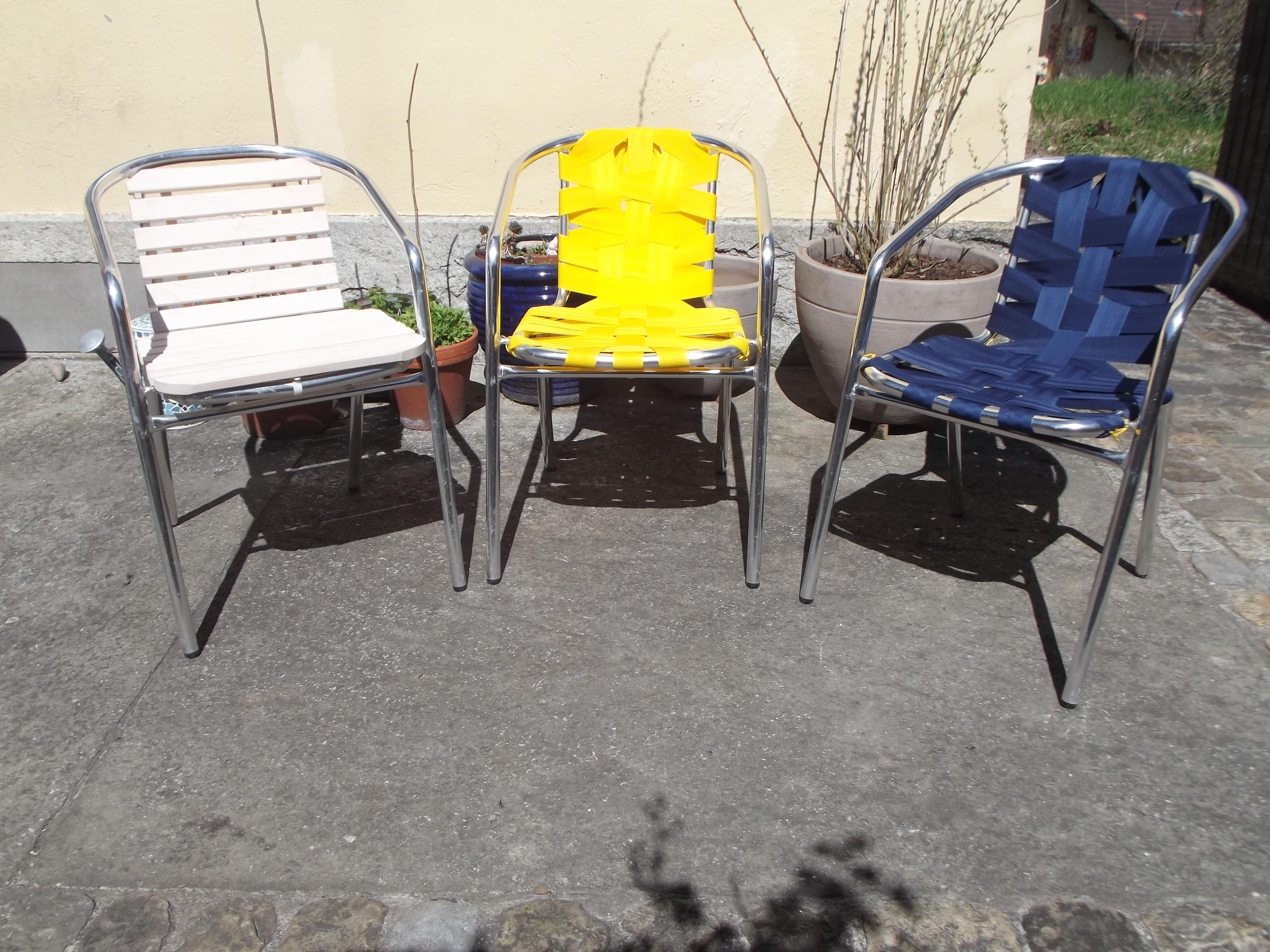 Refurbish your old garden chairs