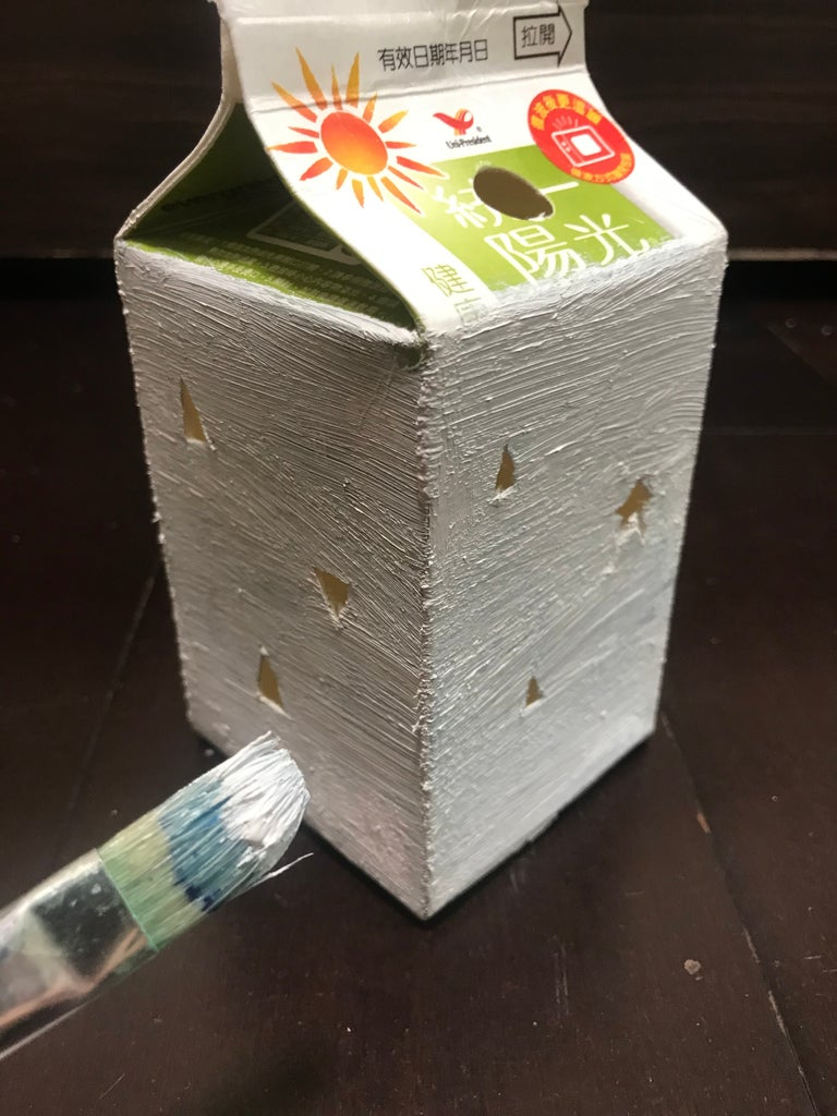 Decorate the Exterior of the Lamp