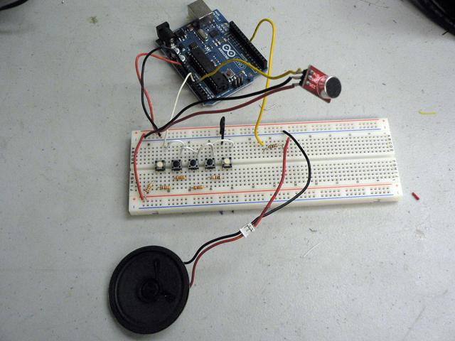 Arduino Wind Instrument