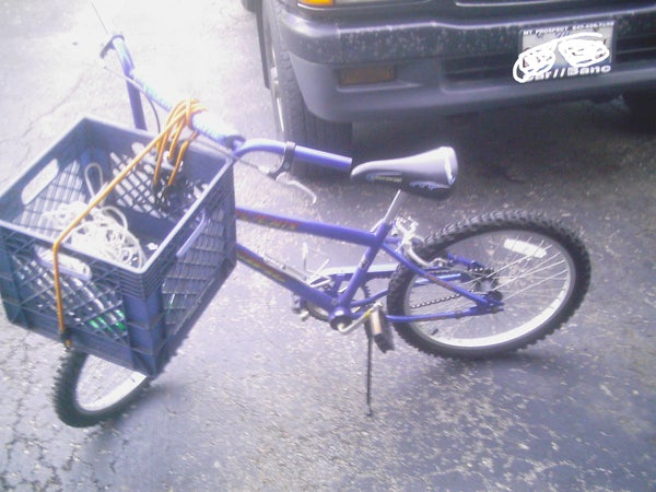 Bike Houlder for Stuff