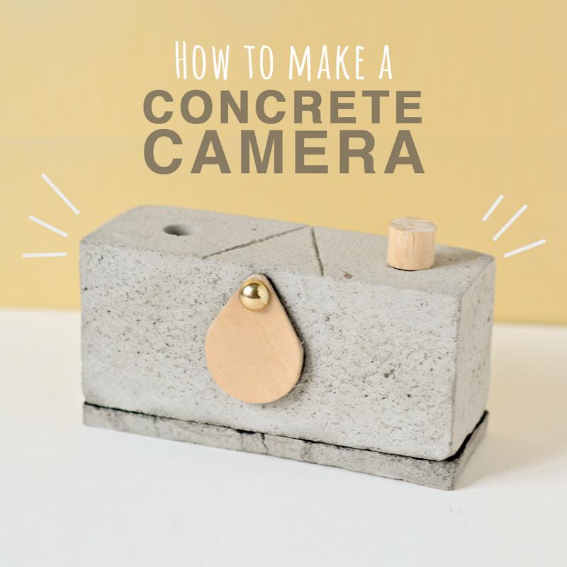 How to make a Concrete Camera