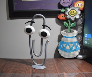 Clippy 3D Modelling