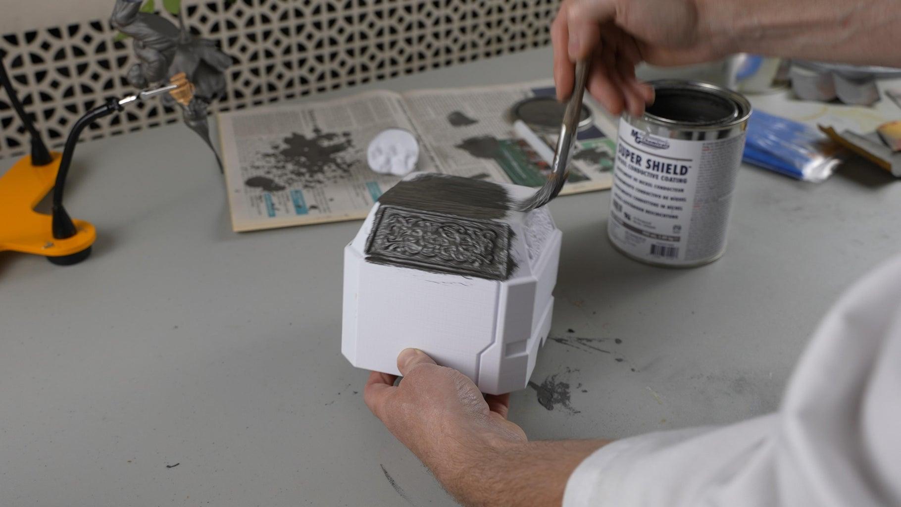 Paint Your Part With Conductive Paint