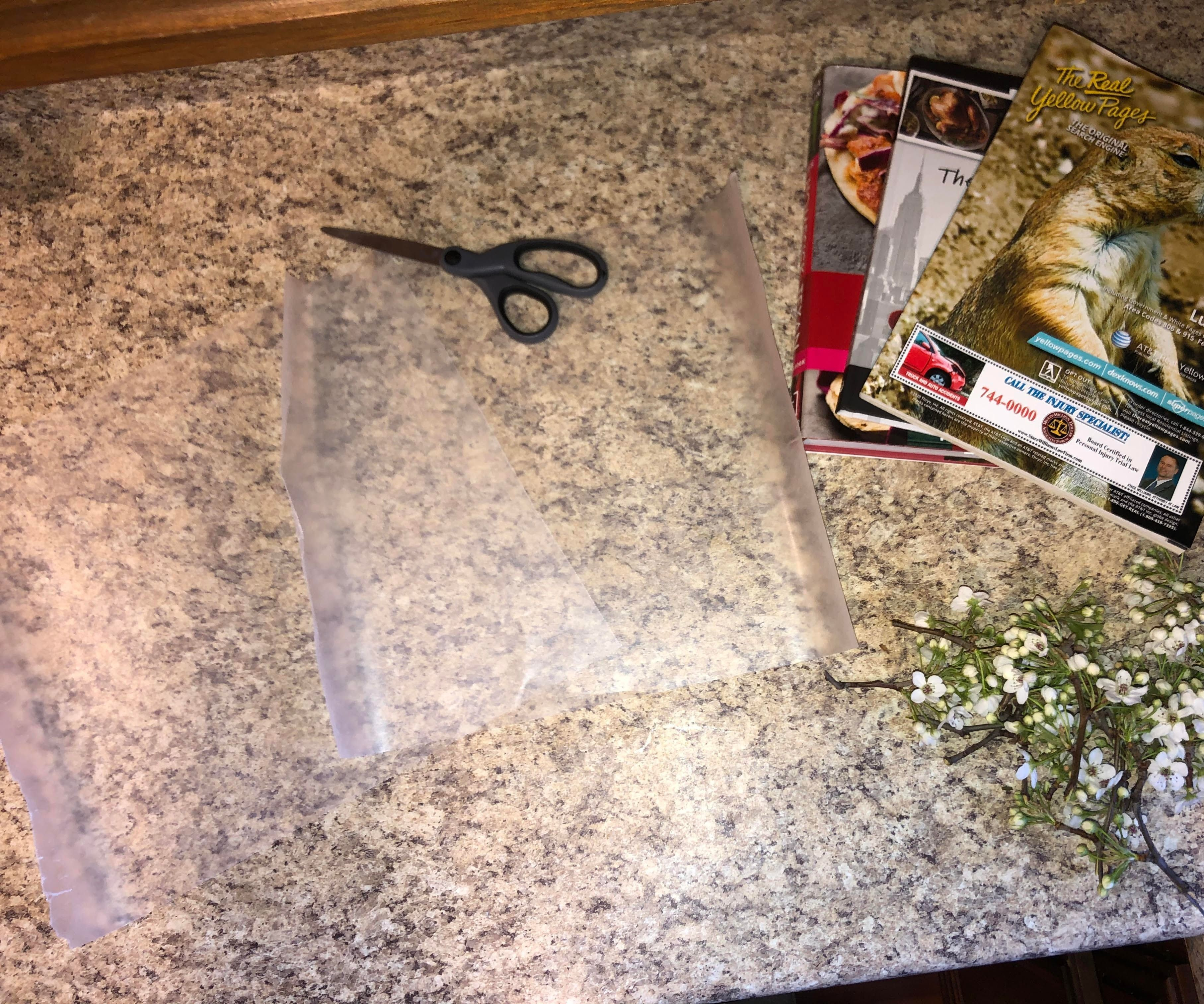 How to Press Flowers in a Book