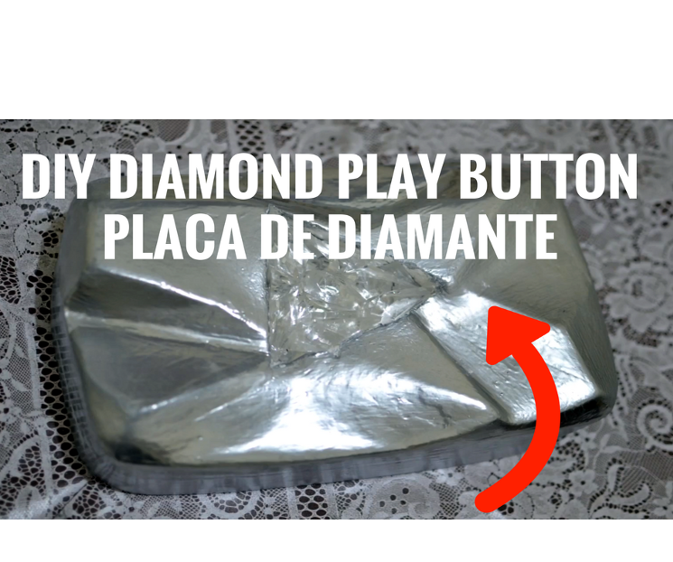 DIY YouTube Diamond Play Button