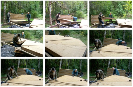 Assemble the Floor Panels