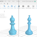 Creating a Bishop Chess Piece Using SelfCAD