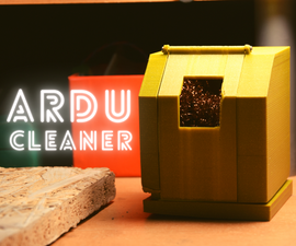 Automatic Tip Cleaner - ArduCleaner