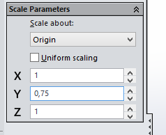 Scale the Letters