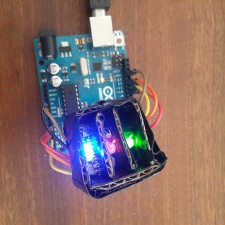 Using an RGB LED to Detect Colours