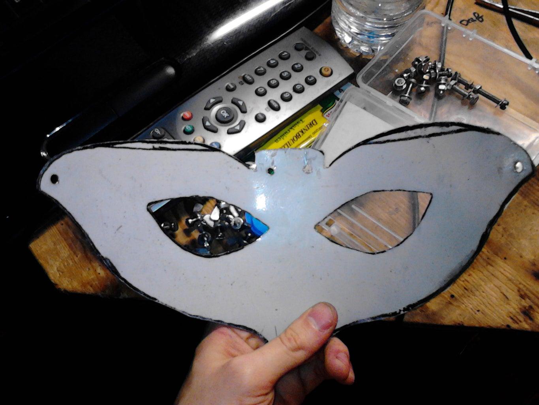 Making the Faceguard Part 1