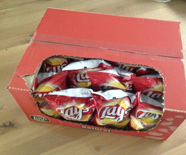 Potato Chips Box