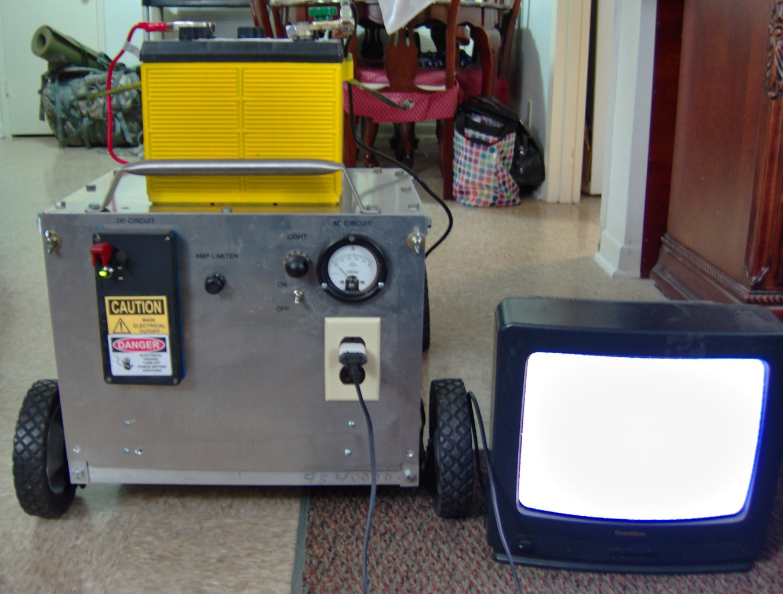 Lawnmower Power Generator With a Twist