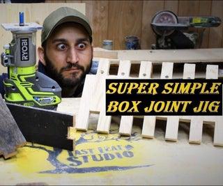 Box / Finger Joint Jig