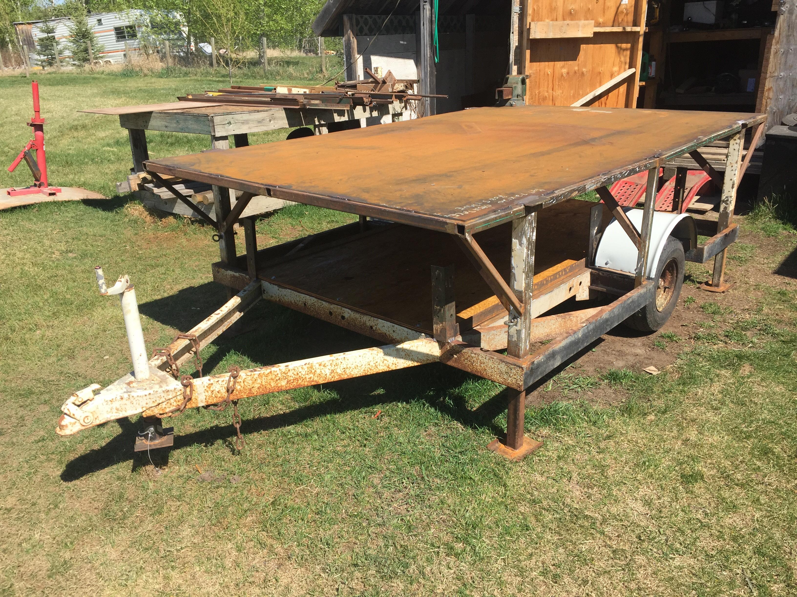Supreme Mobile Welding Table