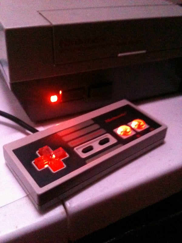 Nintendo LED D-pad and Buttons NES