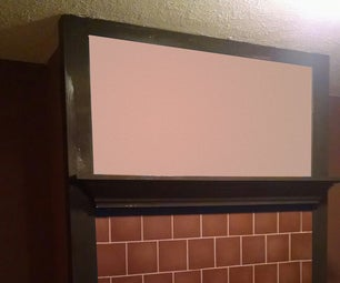 Floating Mantle From Cown Molding