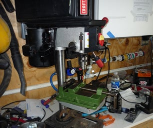 Give Your Table Top Drill Press MORE POWER!