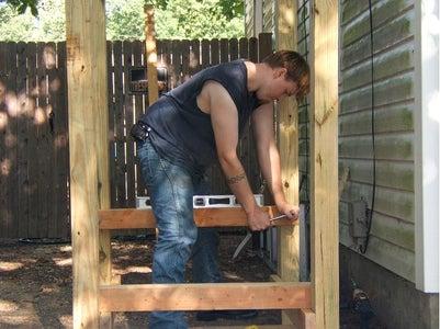 Installing the Barrel Braces
