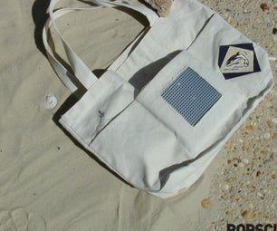 Weekly Project: Make an IPod Tote Bag--Spring Fling Bling-Bling