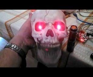 Talking, Motion Activated Skull