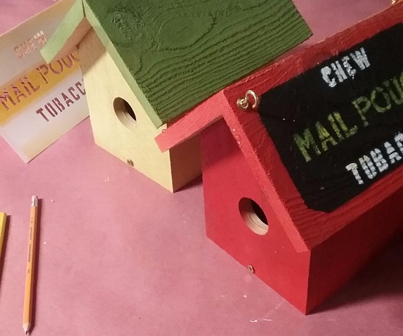 One Board Birdhouse