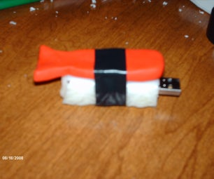 Failed Attempt:  Sushi USB Flashdrive